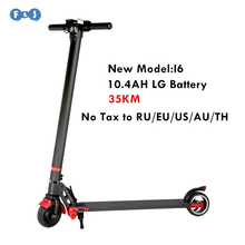 Russia Stock Foldable Electric Scooter with 10.4AH LG Battery for Adults and Children Electric Bike Bicycle Electrombile eBike
