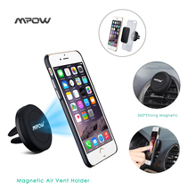MCM8 Mpow Grip Magic Air Vent Magnet One Step Mounting Magnetic phone Stand Car Mount Phone Holder for iPhone 6 5S Andriod phone