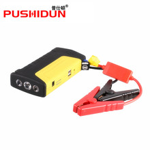 12V Portable Mini Jump Starter 12000mAh Car Jumper Booster Power Mobile Phone Laptop Power Bank Battery Charger(China)