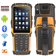 TS-901 Android handheld mobile pos terminal rugged PDA barcode scanner rfid reader wifi 3g bluetooth data collector