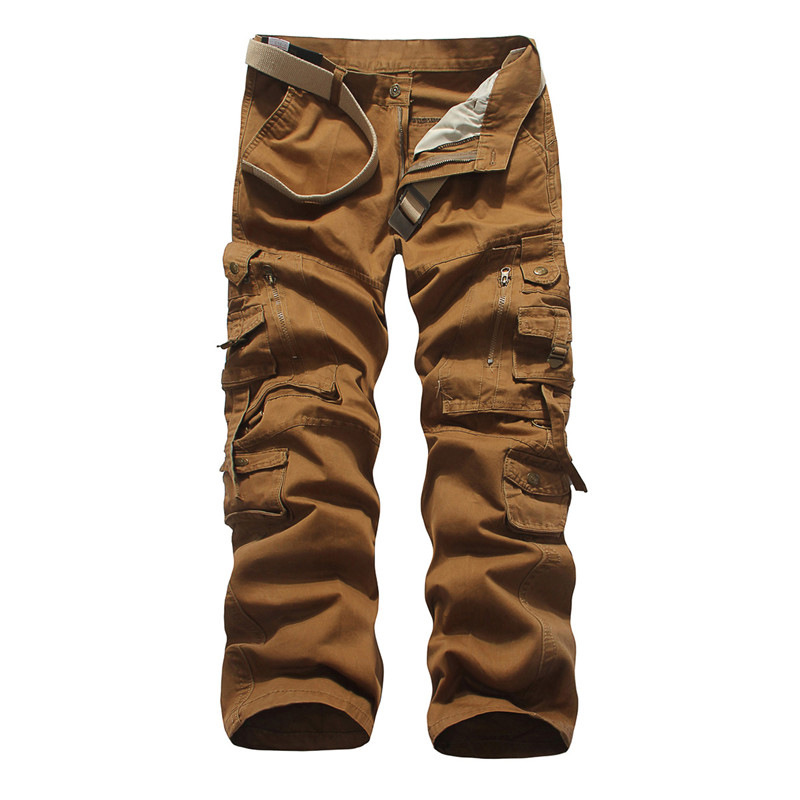 New Arrival Tactical Style Men Loose Overalls Multi-Pockets Gargo Pants Solid 6 Colors Mens Spring Summer Casual TrousersОдежда и ак�е��уары<br><br><br>Aliexpress