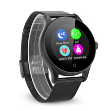 Sinopoo K88H Bluetooth Smart Watch with Round IPS Screen Heart Rate Monitor App Download Multi Language For IOS Android