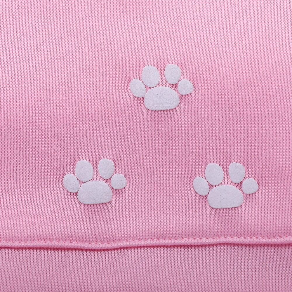 17 New Cartoon Hooded Hoodies Lover Cats Kangaroo Dog Hoodie Long Sleeve Sweatshirt Front Pocket Casual Animal Ear Hoodie 16