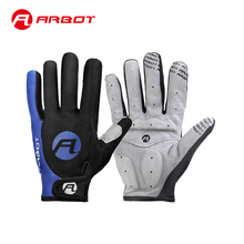 Arbot Bicycle Bike Gloves Men Women Cycling Glove Special Bicycle 3D GEL Sports Full Finger Glove Blue Red Black Gloves