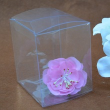 10PCS 15x15x15 cm Super large packaging box/clear plastic container/chocolate box /Transparent candy box gift packing PVC boxes(China)