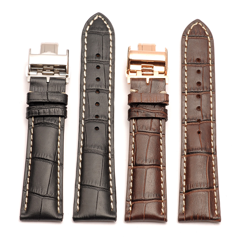 New Fashion High Quality Genuine Calf Hide Leather Watch Band For Longines Watchbands 14mm 18mm 19mm 20mm 21mm<br>