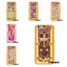 For Samsung Galaxy A3 A5 A7 J1 J2 J3 J5 J7 2016 2017 sakura card captor cardcaptor The Voice Card Soft Silicone Cell Phone Case