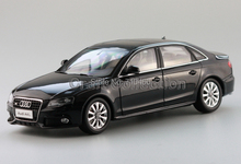 Car Model New Audi A4L A4 B8 2010 1:18 Alloy Collection Luxury Vehicle