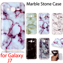 Marble Stone Collection Flexible TPU Soft Cover For SAMSUNG j7 SM-J700H J700F SM-J700FN Case For Samsung Galaxy J7 Fundas
