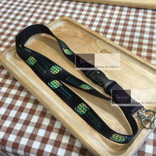 400pcs custom neck lanyard with your own logo printing d by FEDEX