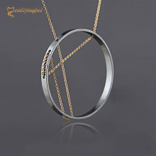 Mei di jing bei hot fashion new necklace metal long chain long necklace chain ornaments wholesale(China)