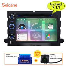 Seicane 7 inch 2din Android 7.1 car Radio DVD Player for Ford Fusion 4-door Sedan 2006-2009 GPS Navigation with 2G RAM 16G ROM(China)