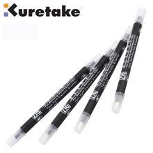 ZIG Kuretake Blender Brush for Blending Waterbased inks Twin Tip Flexible Brushes TC-9000 Clear Japan