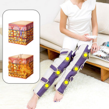 Best Selling Pain Relief 2016 heating knee pad massage device leg knee thermostat electric foot heating pad fat burning belt