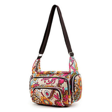 Bags women Messenger fashion print waterproof nylon women's casual women's shoulder bags Mummy bag size 25 * 22 * 12 cm Style 6