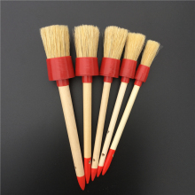 5 PCS/LOT Auto Cleaner Tools Genuine Bristle Cleaner Car Wheels Interior Emblems Air Vent  Detailing Cleaning Brushes