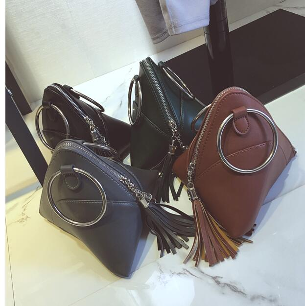 New Arrivals Triangle Shape Day Clutch Women Evening Bag PU Leather Wristlet Purses Tassel Small Handbags Ring Coin purse<br><br>Aliexpress