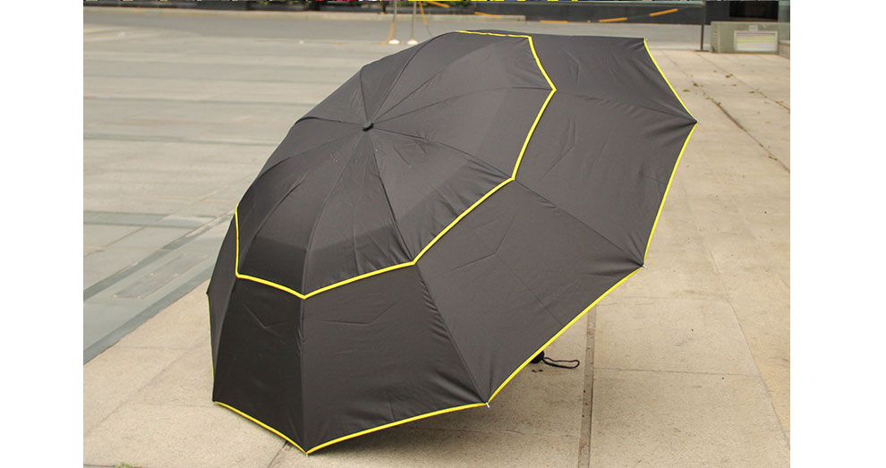 130 cm Big Top Quality Umbrella Men Rain Woman Windproof Large Paraguas  Male Women Sun 3 Folding Umbrella Outdoor Parapluie - us215 d160c312e4f4