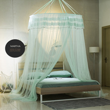 King Size Bed Chinese best gifts handmade summer single double lace super big mosquito net canopy
