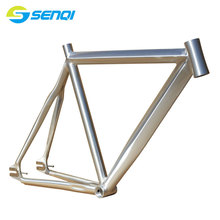 New Arrival Fixed Gear 700C*52CM 700C*55CM Bicycle Frame Road Bike Fixed Gear Bike Smooth Welding Frame BZC001