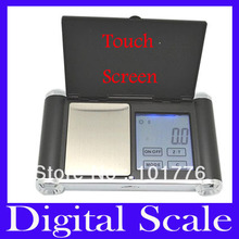 Free shipping 100gx0.01g,200gx0.01g,500gx0.1g Digital Pocket Jewellery Scale,Touch Screen Auto-Off Strain Gauge ,10pcs/lot