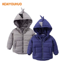 2 colors !!! Boys Jacket winter coat Children's outerwear winter style baby Goys and Girls Warm Coat Clothes for 2-6 yrs(China)