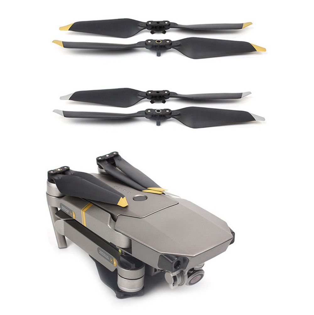 MASiKEN 8pcs Propeller For DJI Mavic PRO 8331F/Platinum Drone Reduce Noise Propellers Guard Blade Protective Accessories Parts