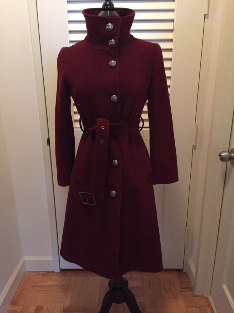 Wool Coat Maroon Promotion-Shop for Promotional Wool Coat Maroon ...