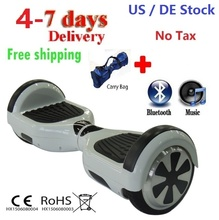 "DE US Stock Self balancing Scooter 6.5"" Electric Scooter Hoverboard Bluetooth Two Wheel Smart balance Electric skate skateboard"