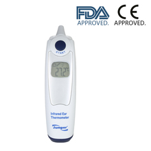 Jumper Baby Ear Thermometer Digital Infrared Smart Body Temperature Measure Monitor Fast Read Fever Warning CE FDA Approved