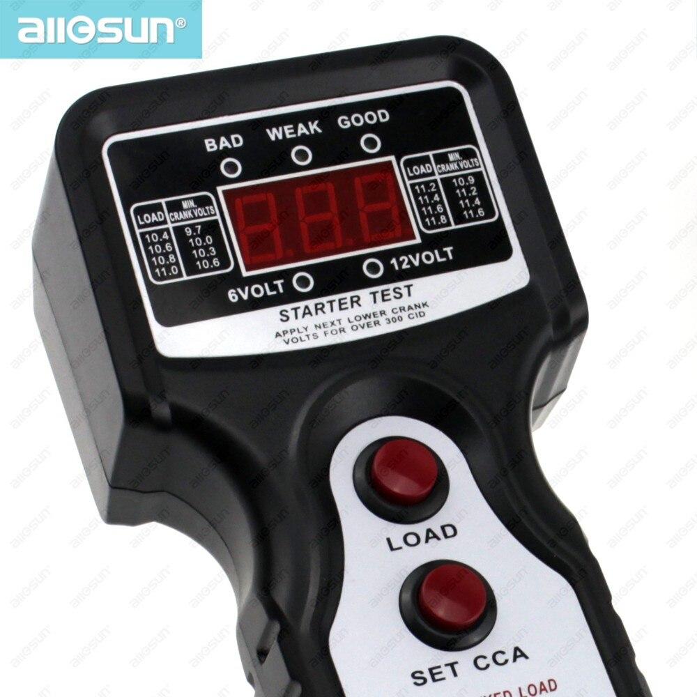 Блендеры,Миксеры All-Sun EM577 CCA Тестер автомобильных аккумуляторных батарей для проверки всех свинцово-кислотных типов с номинальным напряжением 12 В (Фото 2)