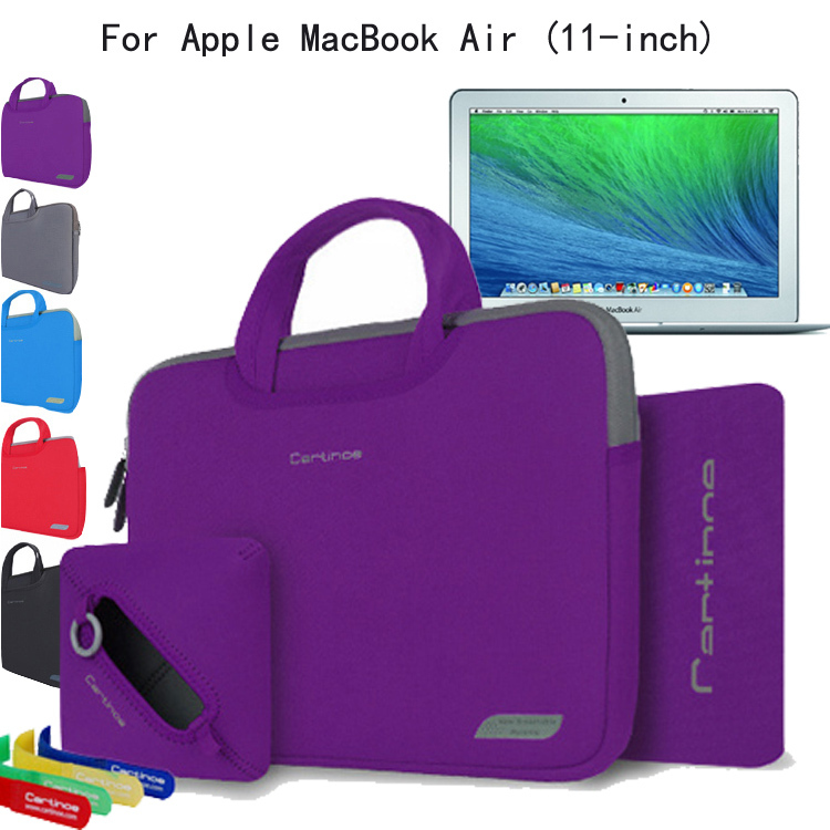 4-in-1 Slim Neoprene Skin Shockproof Sleeve Carrying Case Briefcase Bag Pouch Cover For MacBook with Retina Display 2015 12-inch<br><br>Aliexpress