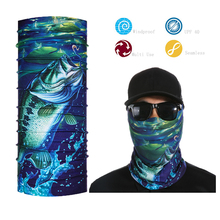 Stylish Unisex Colors Scarf Tube Bandana Head Face Mask Neck Fishing Headwear(China)