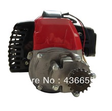 49CC 2-STROKE ENGINE MOTOR ATV Quad BIKE Mini Pocket With TRANSMISSION High Quality Engine Parts