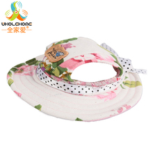 1PCS/Lot Floral Pet Dog Hats Breathable Baseball Dog Caps Dogs Sports Sun Hats Pet Supplies Cat Dog Accessories