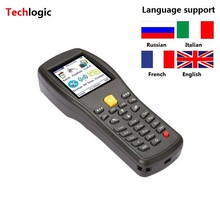 Techlogic X3 Wireless Barcode Scanner Handheld Terminal PDA Supermarket Warehouse Laser Bar Code Gun Inventory Barcode Scanner(China)