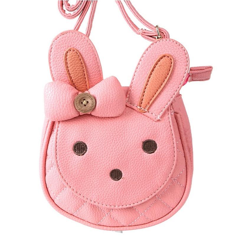 Preschool Kid Cute Bunny Shoulder Bags Children Lovely Rabbit Bow Mini Zoo Bag Little Girls Pink Princess Bag Animal Toy Handbag<br><br>Aliexpress