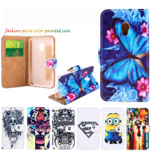 Phone Case For Alcatel OneTouch Pixi 4 OT4034 dual-SIM 4034D OT-5045 5045D OT-5010 5010D 5010X 3G DIY Painted Holster Cover