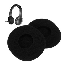 Newest1Pair Replacement Sponge Ear Pads Cushion For Logitech H800 Headphones