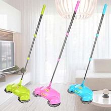 2017 Hot Sale House Cleaning Tools Handheld Sweeper Broom Mops 360 Degree Rotatable Cleaner For Home Hard Floors Dust Cleaner(China)