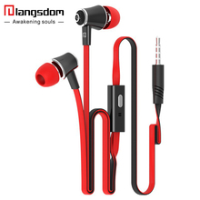 Official Original Langsdom JM21 In-ear Earphone Colorful Headset Hifi Earbuds Bass Earphones High Quality Ear phones for Phone(China)