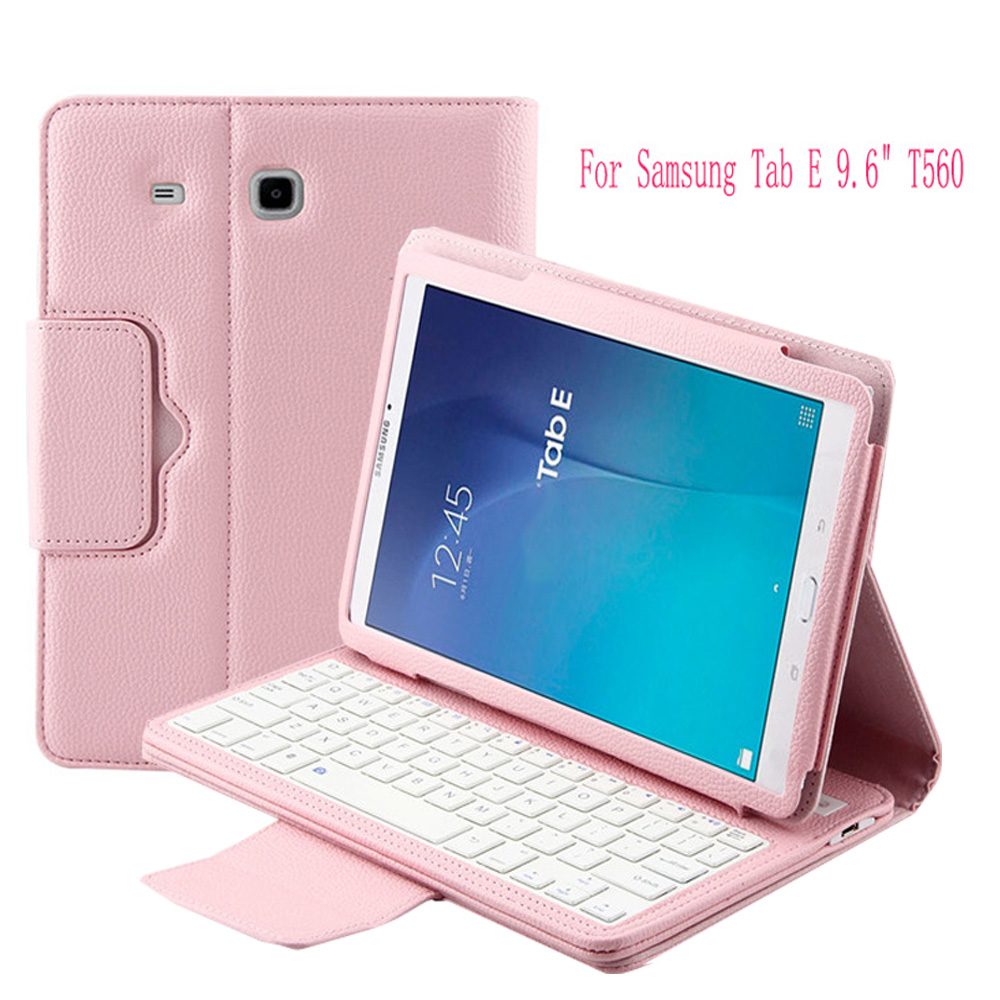 Universal Wireless Bluetooth Keyboard For Samsung Tab E 9.6 T560 Case Cover with Bluetooth Keyboard<br>
