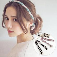 South Korea Pearl Changeable Personality Headband Colorful Hair Band For Woman Girl Hair Accessories Combination Headdress D1(China)