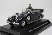 PRC 1:43 Lancia Asturu IV Serie Ministeriale-1938 classic cars classic convertible edition dolls alloy car models