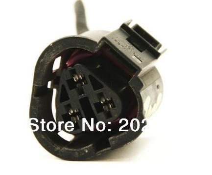 2pcs 3 way 1j0973203 radiator coolant temp sensor wiring plug audi rh aliexpress com