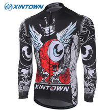 Buy XINTOWN Warm Fleece Men Cycling Jersey Breathable Long Sleeve Ropa Ciclismo Bicycle Sportswear Bike Quick Dry MTB Clothing for $30.99 in AliExpress store