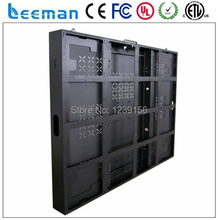 Leeman P3/P4/P5/6mm 480x480/500x500mm panel/module/cabinet size high density die cast aluminum indoor&outdoor led screen display