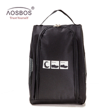 Aosbos 2017 Sports Bags Women Men Oxford Bag for Shoes Waterproof Lightweight Gym Sports Bag Duffel Travel Training Fitness Bag(China)