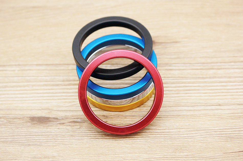 QRTA multiple Colour Space aluminum Penis Rings Cock Ring Adult Products Delay Male Masturbation Health Fun Happy Sex Toys 12