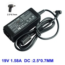19V 1.58A AD820MO AC Adapter for ASUS EEE PC EXA1004CH EXA1004UH EXA1004EH 1001PXD R101D 1001PX Laptop Charger 2.5*0.7mm